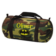 Duffel Bag, Personalized Camo