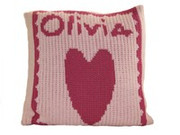 Personalized Pillow, Heart