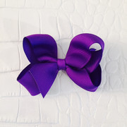 Dori Bows Medium Sized Bow, Purple