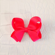 Medium Sized Bow, Hot Pink