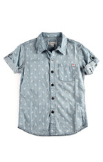 Appaman Denim Pattern Button Down