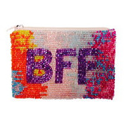 BFF beaded Coin Purse