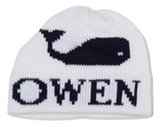 Personalized Hat, Single Whale