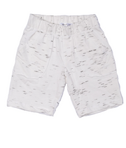 Joah Love Knox Marble Short, White