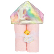 Deluxe Hooded Towel, Tie Dye Pink
