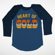 Tiny Whales, Heart of Gold Raglan