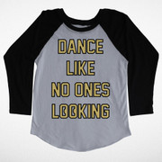 Tiny Whales, Dance Like No Ones Looking Raglan