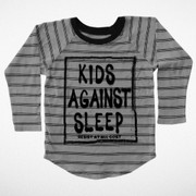 Tiny Whales, Kids Against Sleep Raglan