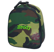 Gumdrop Lunch Bag, Personalized Camo