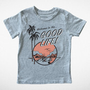 Tiny Whales, Good Life Tee in Grey