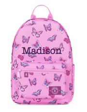 Small Backpack, Personalized, Butterflies