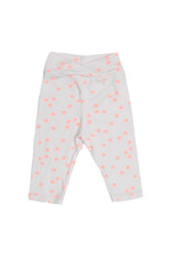Joah Love, Super Comfy Crossover Cropped leggings with Neon Pink Star