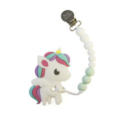 Baby Teether, Rainbow Unicorn