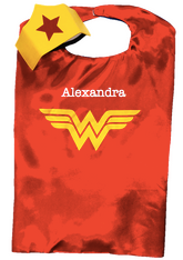 Superhero Cape, Wonder Woman Personalized
