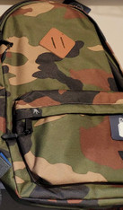 Large Backpack, Personalized, Camo