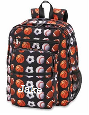5 Zipper Backpack, Sports