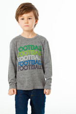 Chaser, Football Triblend Long Sleeve