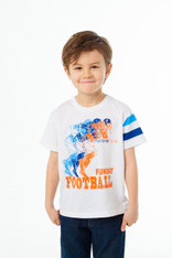 Chaser, Boys Vintage Jersey Short Sleeve Football