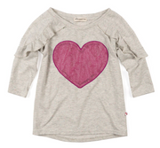 Appaman, Heart and Ruffle Long Sleeve