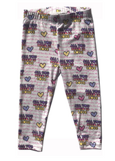 Rowdy Sprout, All You Need is Love Leggings