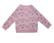 Ice Cream Castles, Pegasus Blush Sweatshirt
