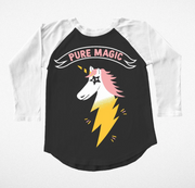 Tiny Whales, Pure Magic Unicorn Long Sleeve T-Shirt