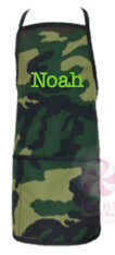 Apron, Camo Personalized