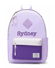 Large Backpack, Personalized, Grape Soda