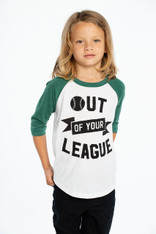 Chaser, Out of your League 3/4 Baseball Tee
