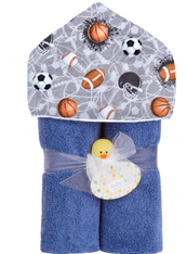 Deluxe Hooded Towel, Sports