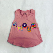 Californian Vintage, Amour Pink Tank