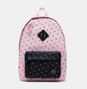 Large Backpack, Personalized, Polka Dot