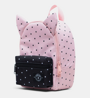 Small Backpack, Personalized, Little Monster Polka Dot