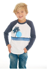 Chaser, Blue Lagoon Cotton Jersey