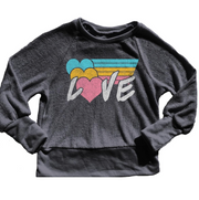 Rowdy Sprout, Love Sweatshirt