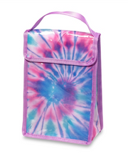 Lunch Bag, Purple Tie Dye