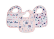 Aden and Anais, Snap Bibs Trail Blooms