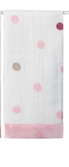 Aden and Anais, Security Blanket Polka Dots