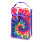 Lunch Bag, Bright Tie Dye
