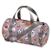 Duffle Bag, Grey Sports