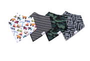 Bandana Diesel Bib Set of 4, Personalized