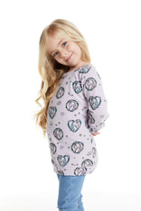 Chaser, Unicorn Wreath Pullover Purple