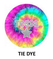 Tie Dye 2 Piece Set: Bowl and Plate