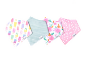 Bandana Summer Bib Set of 4, Personalized