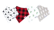Bandana Phoenix Bib Set of 4, Personalized