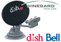 Winegard SK-1000 TRAV'LER DISH Network 1000 and Bell TV