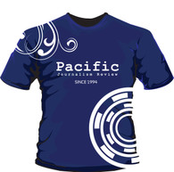 "PACIFIC JOURNALISM REVIEW ""SINCE 1994"" SOUVENIR T-SHIRT"