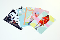 Postcards designed by AUT students