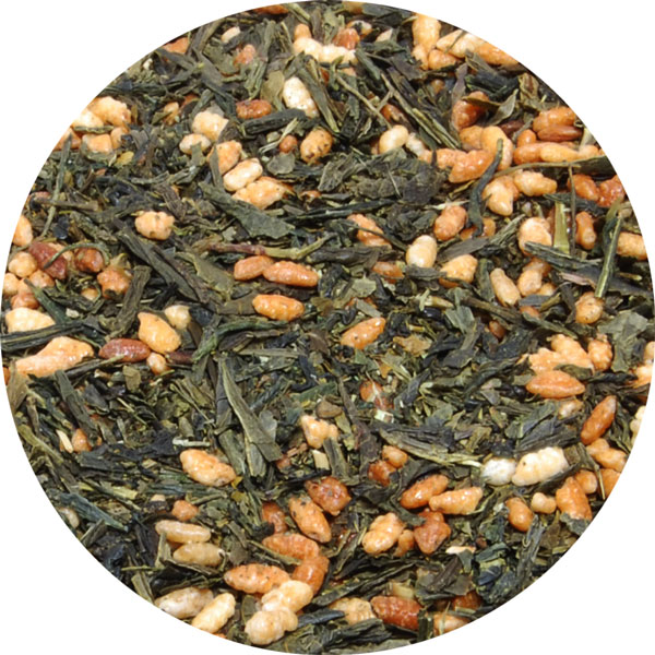 Ryu Mei Organic Genmaicha Brown Rice with Sencha Green Tea Leaves