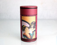 Ukiyoe Folk Story Canister (Mirror Beauty)